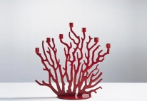 coral-inspired-candle-holder
