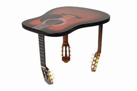 Lamparas con instrumentos musicales ayc adapta y combina for Mueble guitarras