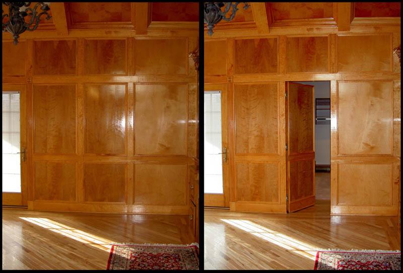 No son puertas son entradas secretas ayc adapta y combina for Houses with secret rooms and passageways