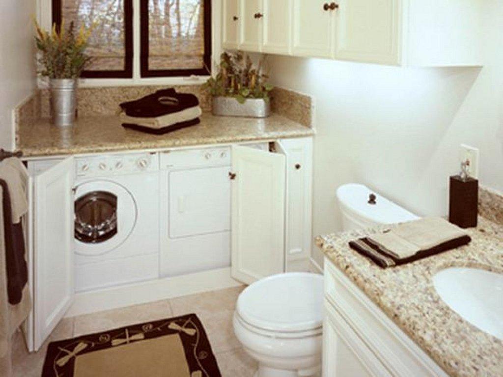 Ideas para ocultar la lavadora ayc adapta y combina for Lavadero para bano
