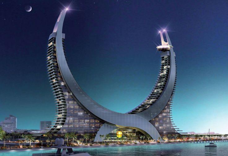 In Qatar, Lusail Marina Tower