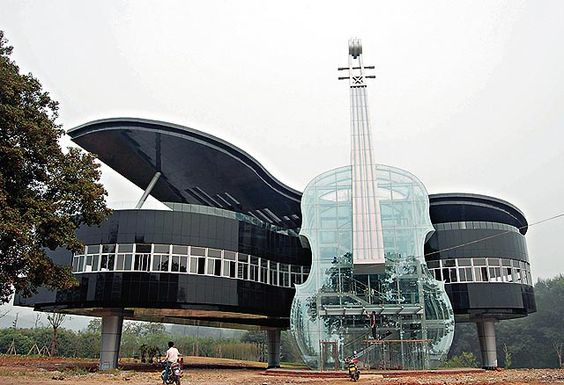 Piano House in Huainan, Anhui province in China
