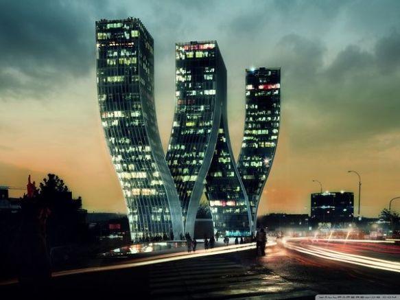 Prague  The W Tower