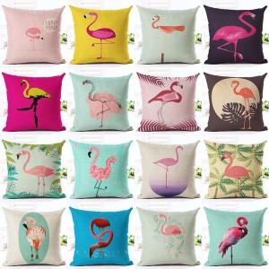 Lovely-Pink-font-b-Flamingo-b-font-font-b-Printed-b-font-Throw-Pillow-Houseware-Fashion