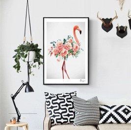 New-font-b-Flamingo-b-font-Animals-Wall-font-b-Picture-b-font-Painting-By-Numbers