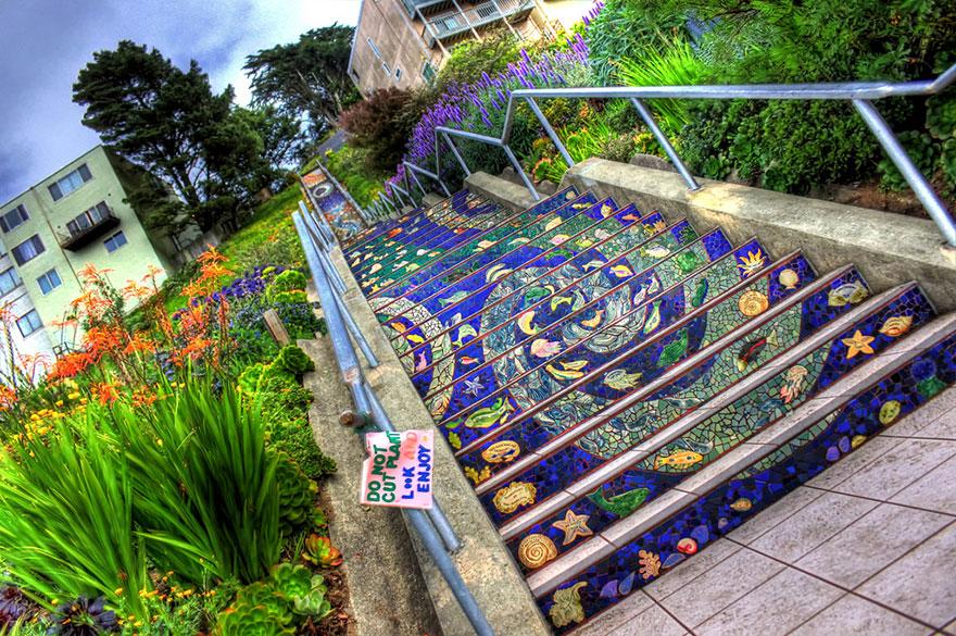 1. 16th Avenue Tiled Steps, San Francisco