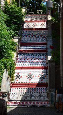 #1 Digital Transilvania - Rakoczi Stairs, Targu Mures, Romania