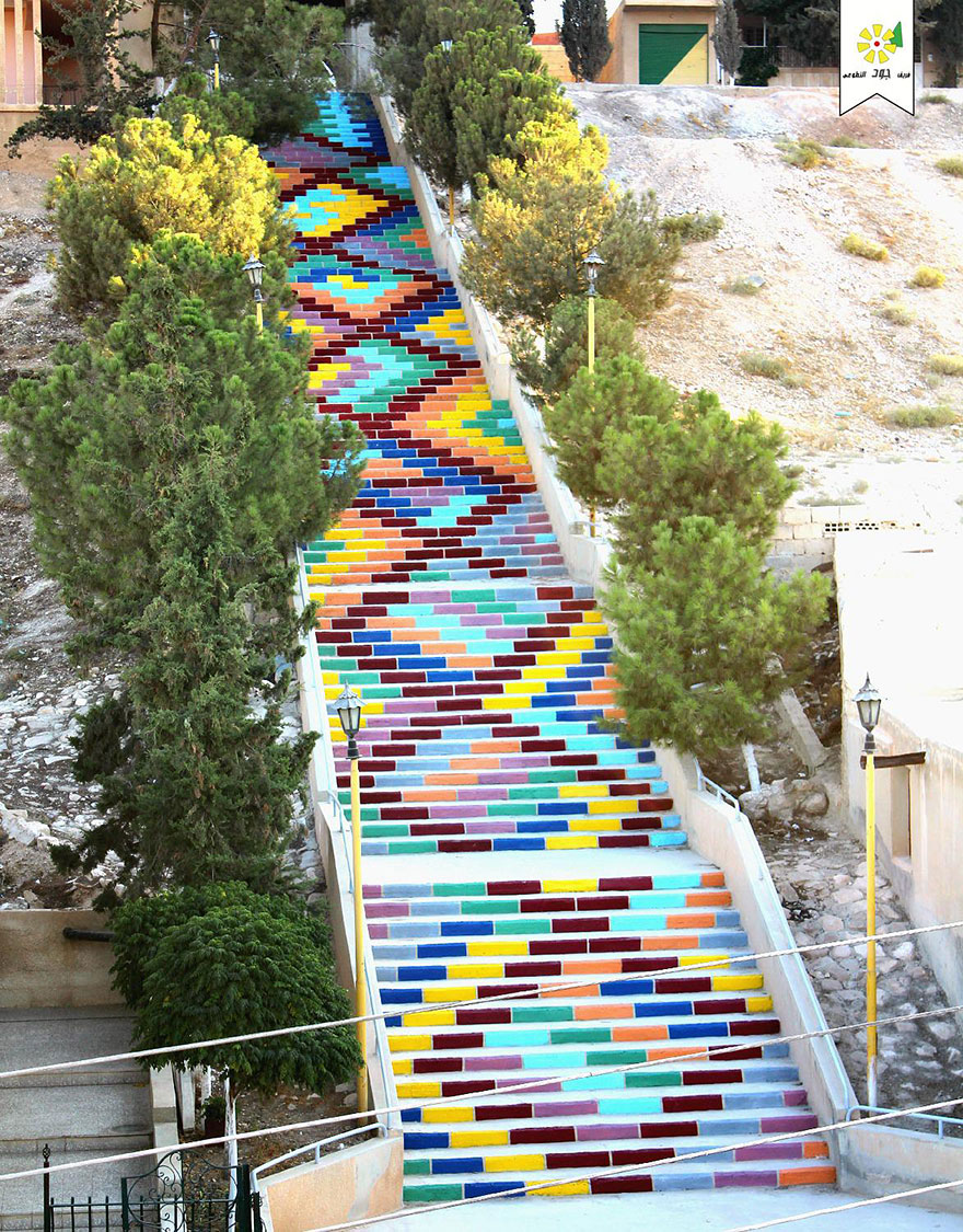 11. Stairs of Peace in Syria