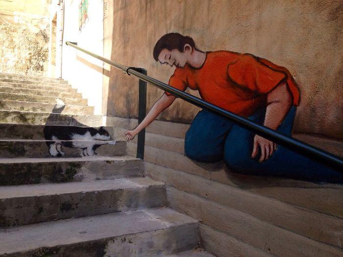 #23 The Maltese Cat In Mellieha, Malta